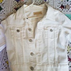 True Religion Womans cropped denim jacket